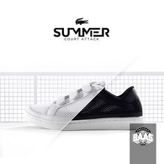 "Lacoste Camden New Cup Mesh ""White"" & ""Black"" 