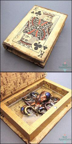 Steampunk Octopus Book by Bon-AppetEats.deviantart.com on @DeviantArt
