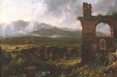 Thomas Cole (1801-1848,USA)   a View near Tivoli