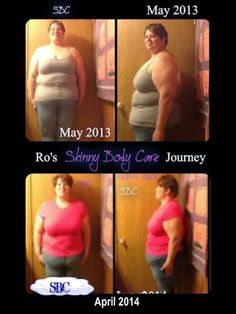 Rochelle has lost 33 pounds and 39 inches!