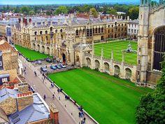 King's College, University of Cambridge, England