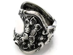 Spoon Ring Size 7 Chester 1900 Rare