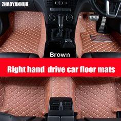 4 Piece Pc 4Pc PVC Rubber Car Mats Floor Set For Nissan Micra 3DR 2003-2010