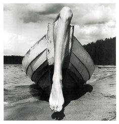 Arno Rafael Minkkinen | Self Portrait | Kuusamo | Finland | 1976