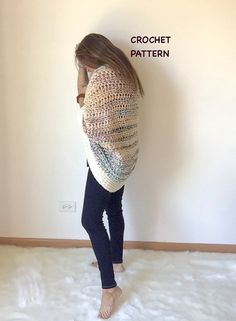 This is the pattern ONLY, not the actual crocheted shrug. Similar to the Juno Shrug, this will quickly become a fave to make and wear. This pattern is for advanced beginners. This is an original design. The instructions are in American stitches. You will receive written AND photo instructions as well as charting of stitchwork My patterns for shrugs and sweaters are mostly one size but can easily be adjusted to fit any size up or down specifically. I am happy to help in that area if you…