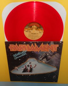 PARLIAMENT mothership LP Record RED Vinyl , funkadelic