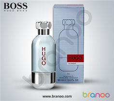 Hugo Boss Element for Men Eau de Toilette Hugo Boss Perfume, Vodka Bottle, Water Bottle, Stuff To Buy, Men, Eau De Toilette, Water Bottles, Guys