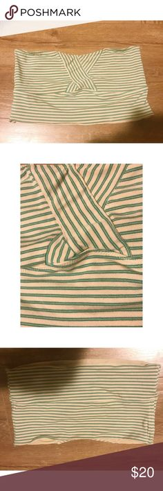 Free People Striped Bandeau Used but no flaws, rips or stains.  Size medium, does not run big as some free people clothing does.  Give off botanical hippie vibes in this sweet little number Intimately Free by Free People Free People Intimates & Sleepwear Bandeaus
