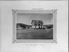 İstanbul-Yıldız Albümleri, Ayazağa,  [The third section of the Ayazağa stable] / Constantinople, Abdullah Frères