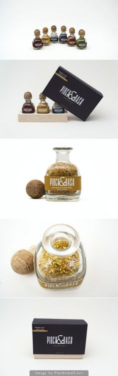 A pinch of this and a dash of that #packaging PD - created via http://www.packageinspiration.com/pinch-dash.html/