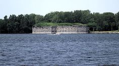 Fort Montgomery on Lake Champlain in Rouses Point, NY Lake Champlain, Weird Facts, Fun Facts, Crazy Facts, Cassandra Complex, Electronic Frontier Foundation, Battle Angel Alita, Ghost In The Shell, Fortification