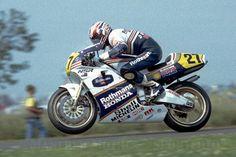 Mick Doohan Honda rothmans 500cc '89 his frst year in MotoGP