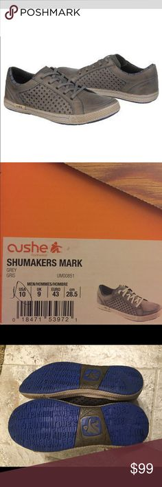 NWT Cushe Shumakers Mark 10 Leather Sneakers Shoes These shoes are New with its box. Cushe Shoes Oxfords & Derbys