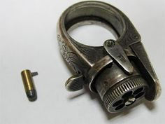 """Le Petit Protector"" pistol ring"