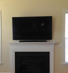 TV and sound system installed today!