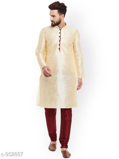 Checkout this latest Kurta Sets Product Name: *Traditional Cotton Blend Men's Kurta Pyjama Set* Top Fabric: Cotton Blend Bottom Fabric: Cotton Blend Scarf Fabric: No Scarf Sleeve Length: Long Sleeves Bottom Type: Churidar Pant Stitch Type: Stitched Pattern: Solid Sizes: S, M, L, XL Country of Origin: India Easy Returns Available In Case Of Any Issue   Catalog Rating: ★4.1 (1658)  Catalog Name: Men's Ethnic Fancy Kurta Pyjama Sets Vol 3 CatalogID_112579 C66-SC1201 Code: 578-952887-9561