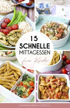 15 schnelle Mittagessen Rezepte für Kinder und die Familie From the quick chicken and pepper pan to the one-pot noodle pot - here are my favorite children's recipes for a quick lunch. All dishes Whole30 Recipes Lunch, Quick Lunch Recipes, Vegetarian Crockpot Recipes, Vegetarian Breakfast Recipes, Healthy Food Recipes, Baby Food Recipes, Healthy Dinner Recipes, Healthy Lunches, Pasta Recipes