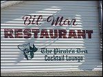 Bil Mar Restaurant. Awesome food and right on the beach. Can it get any better?