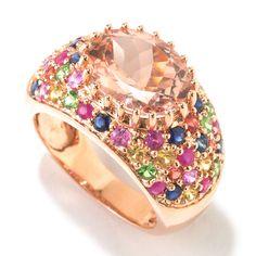Morganite ring  Stunning!