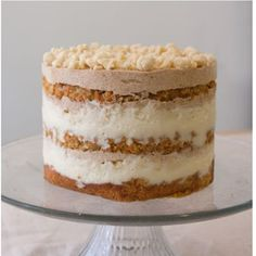Momofuku Carrot Layer Cake is a labor of love that will prove absolutely worth all your hard work with every bite that you take. Every layer is handcrafted deliciousness. Pan Dulce, Momofuku Milk Bar, Momofuku Cake, Layer Cake Recipes, Layer Cakes, Poke Cakes, Let Them Eat Cake, Cupcake Cakes, Cupcakes
