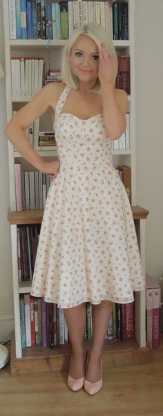 Can't decide whether this belongs with sewing project inspiration, or just plain cute style! Will be a long-term goal.