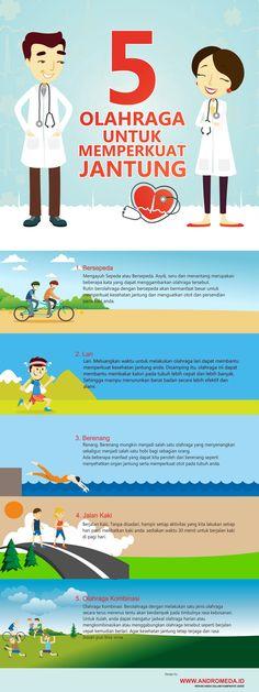 5 Olahraga untuk Memperkuat Jantung Fitness Tips, Health Fitness, Natural Health Remedies, Health And Beauty Tips, Burn Calories, Healthy Tips, Body, Fun Facts, Health Care