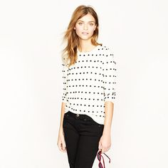 Tippi sweater in swiss dot