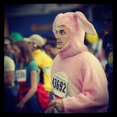 I would run any marathon if I was guarenteed that this would happen.