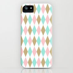 Harlequin Print in Candy Coated iPhone & iPod Case