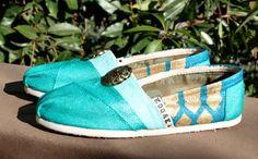 Zapatos Toms inspirados en la princesa Jazmín, $125