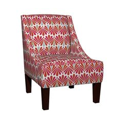 Venda Sloped Arm Chair featuring modi_deco_cw1 by jerebrooks*studio | Roostery Home Decor