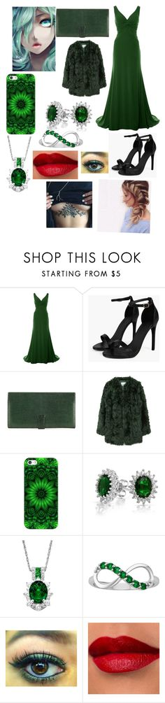"""Flora going to a dance"" by shirowland ❤ liked on Polyvore featuring Boohoo, Hermès, Hai, MANGO, Casetify and Bling Jewelry"