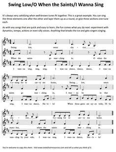 Fun to do with my choir!!