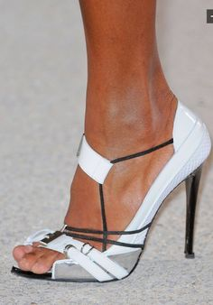 Anthony Vaccarello - spring 2013 shoes details