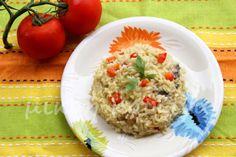 μικρή κουζίνα: Ριζότο με λαχανικά