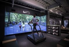 The store emphasizes personalized service and is a template for future Nike retail locations.