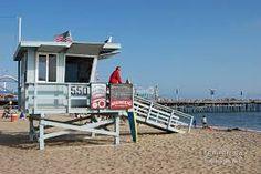 Lifeguard station Santa Monica Beach, CA Lifeguard, Santa Monica, Time Travel, View Photos, In This Moment, Wall Art, Beach, Places, Outdoor Decor