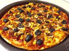 Blat de pizza pufos, rapid și gustos | Pagini de Bucate Vegetable Pizza, Vegetables, Food, Essen, Vegetable Recipes, Meals, Yemek, Veggies, Eten