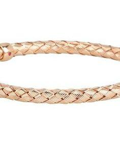 Roberto Coin Woven Bracelet #accessories  #jewelry  #bracelets  https://www.heeyy.com/suggests/roberto-coin-woven-bracelet-rose/