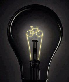 What ideas do you come up with while riding your bike?