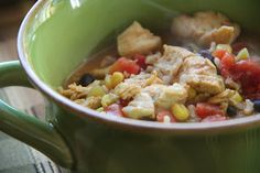 Mix and Match Mama: Dinner Tonight: Chicken Fajita Soup