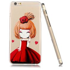 3Cworld iPhone 5/5s Case Clear Back Cover with Design [5S Hard Plastic] - Retail Packaging - 15Patterns (Princess with red) 3Cworld http://www.amazon.com/dp/B014H8TEHA/ref=cm_sw_r_pi_dp_fKVzwb11EJ305