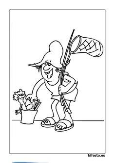 nagy hohoho horgász színező - Google keresés Pencil Drawings, Fish, Cartoon, Halloween, Google, Fictional Characters, Pisces, Cartoons, Fantasy Characters