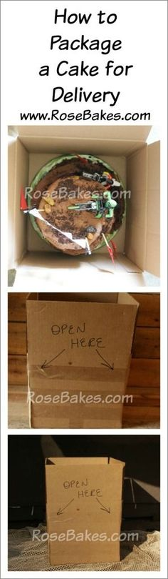 How to Package a Cak
