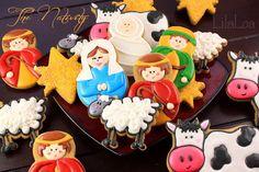 Nativity Cookies - by LilaLoa