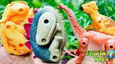 Transforming Dinosaur Eggs / Deformation Genius Eggs Exploration and dis. Dinosaur Eggs, Dinosaur Stuffed Animal, Dinosaurs, Discovery, Make It Yourself, Animals, Animales, Animaux, Animal