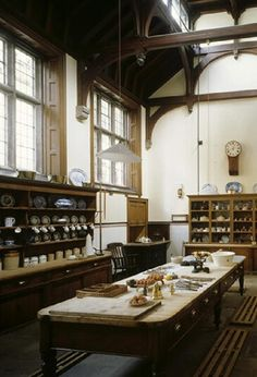 Lanhydrock House scullery