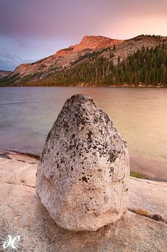 """Dragon Egg,"" Tenaya Lake, Yosemite National Park, CA. Photo: Joshua Cripps via Flickr"