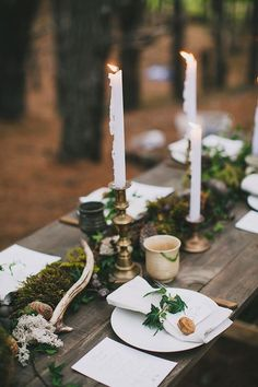 Enchanted forest wedding....