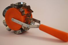 Vintage cookie cutter cookie roller from the 70's by Politos